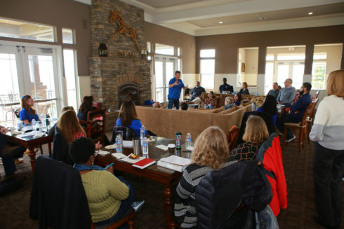 CSM Admins, Faculty, Staff and Student Reps at the Leadership Retreat