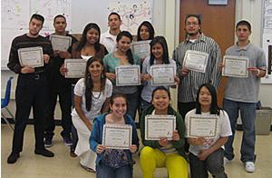 CSM Bridge Program certificate recipients