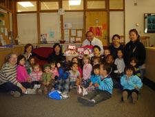 Kids and Staff from CSM's Child Development Center