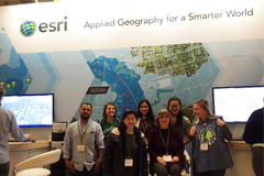 CSM Students at Association of American Geographers Conference.