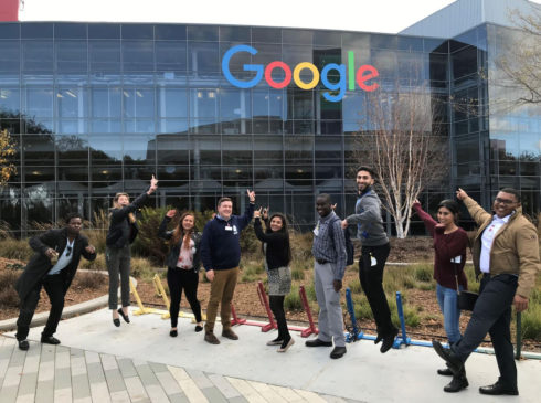 CSM Accounting Students at Google