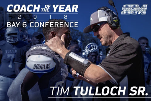Coach of the Year Tim Tulloch