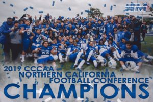 Football NorCal champs graphic 2019
