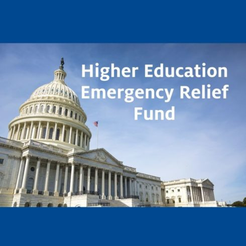 Higher Education Emergency Relief Fund Image