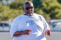 Coach Larry Owens. Photo courtesy of CSM Athletics.